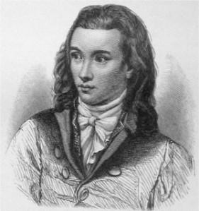 Le poète Novalis (1772-1801)